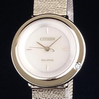 CITIZEN - 【日本未発売】シチズン 高級 レディース腕時計 32mm ダイヤモンド 新品即納