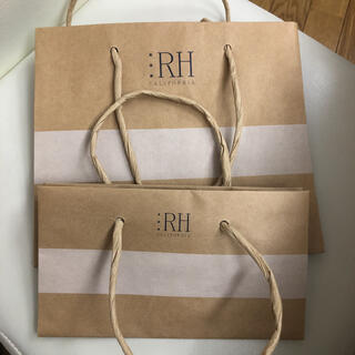 ロンハーマン(Ron Herman)のロンハーマン ショッパー 紙袋 2枚セット(ショップ袋)