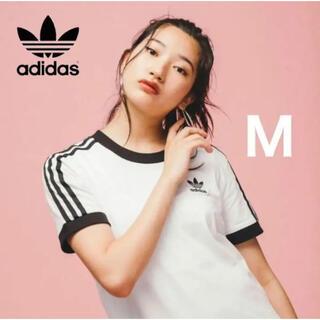 adidas - 【新品】アディダス オリジナルス スリーストライプス Tシャツ レディース M