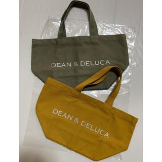 DEAN & DELUCA - DEAN & DELUCA トート S   オリーブ キャラメルイエロー