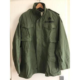 アルファインダストリーズ(ALPHA INDUSTRIES)のアメリカ軍実物 M65 フィールドジャケット(ミリタリージャケット)