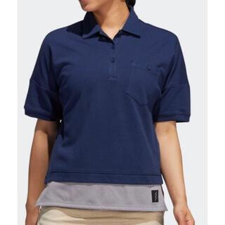 アディダス(adidas)のADICROSS カラーブロック半袖シャツ 【adidas Golf】(ポロシャツ)
