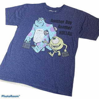 ディズニー(Disney)の【オフィシャル】モンスターズインク マイク サリー tシャツ ディズニー キャラ(Tシャツ/カットソー(半袖/袖なし))
