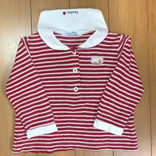 familiar - familiar 90cm ファミくんセーラーTシャツ ロンT