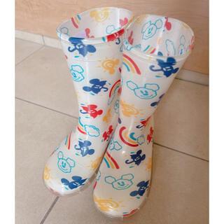 ディズニー(Disney)のディズニーリゾート 長靴 ミッキー 18cm (長靴/レインシューズ)
