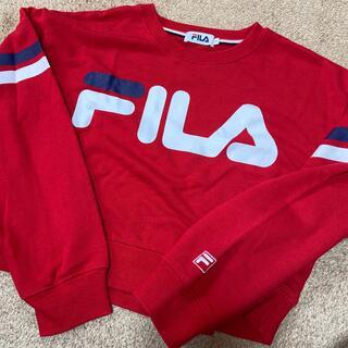 フィラ(FILA)のFILA クロップドパーカー(トレーナー/スウェット)