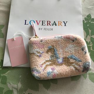 FEILER - 【新品】FEILER フェイラー LOVERARY ポーチ ラブラリーモクバ