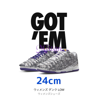 NIKE - NIKE WMNS DUNK LOW MADE YOU LOOK 24cm