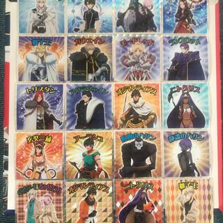 Fate キャメロットマン シール 全 20 種 コンプリートセット