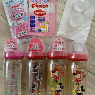 Pigeon - Pigeon 哺乳瓶240ml&乳首(M) 新品未開封