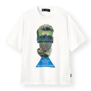 アンダーカバー(UNDERCOVER)の新品未使用 GU×UNDERCOVER ビッググラフィックT ホワイト S(Tシャツ/カットソー(半袖/袖なし))