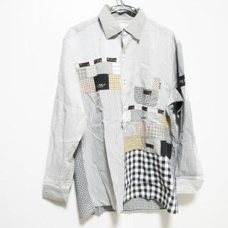 カールヘルム(Karl Helmut)のカールヘルム メンズ - 黒×白×マルチ(シャツ)