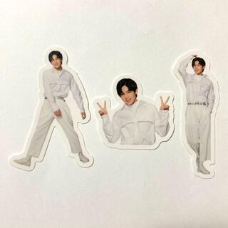 Johnny's - Snow Man ポートレートシリーズ フレークシール 目黒蓮 3枚セット