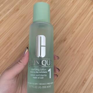 クリニーク(CLINIQUE)のCLINIQUE クラリファイングローション1(化粧水/ローション)