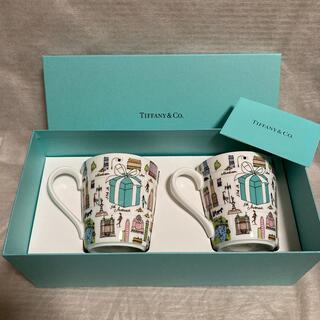 Tiffany & Co. - ティファニー 5thアベニュー マグカップ 新品 ブルーボックス ニューヨーク