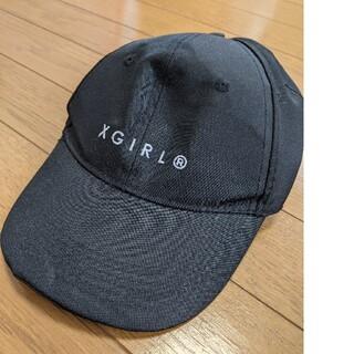 エックスガール(X-girl)のエックスガール X-girl レディース 帽子 キャップ 黒 ブラック(キャップ)