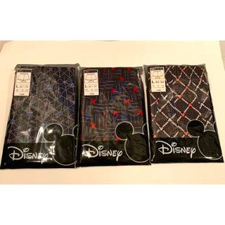 ディズニー(Disney)の新品◆ディズニー ミッキーマウス 前開きトランクス 3枚(トランクス)