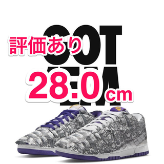 NIKE - NIKE WMNS DUNK LOW MADE YOU LOOK 28.0cm