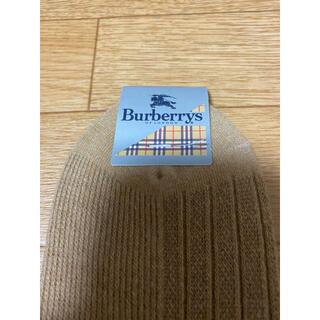 BURBERRY - 新品未使用 バーバリー レディースソックス ベージュ