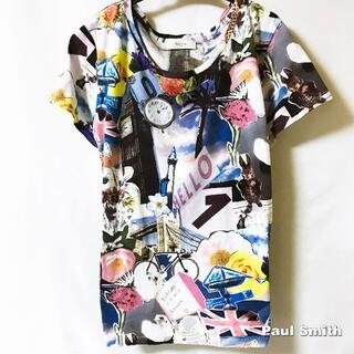 Paul Smith - 【Paul smith】マシンウォッシャブル アートワーク総柄 Tシャツ