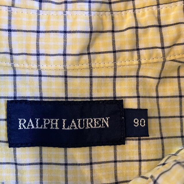 Ralph Lauren(ラルフローレン)のラルフローレン 半袖シャツ キッズ/ベビー/マタニティのキッズ服男の子用(90cm~)(Tシャツ/カットソー)の商品写真