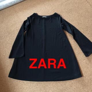 ザラ(ZARA)のZARA ワンピース チュニック L(ミニワンピース)