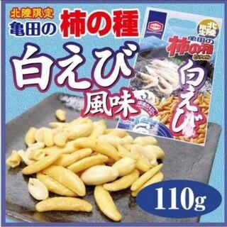 カメダセイカ(亀田製菓)の柿の種 白えび風味(菓子/デザート)