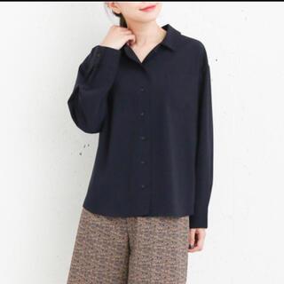 ケービーエフプラス(KBF+)のKBF+  オープンカラーシャツ 新品(シャツ/ブラウス(長袖/七分))