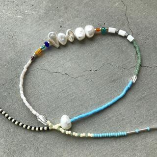 IENA SLOBE - handmade necklace 077