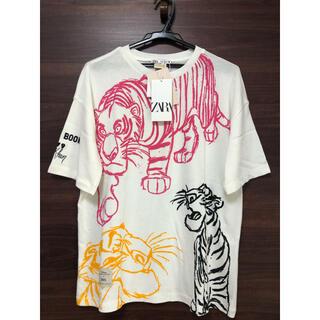 ザラ(ZARA)の未使用タグ付 ZARA ディズニー 映画 ジャングルブック Tシャツ M(Tシャツ(半袖/袖なし))