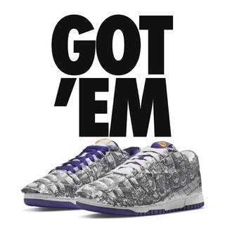 NIKE - NIKE WMNS DUNK LOW MADE YOU LOOK 28cm