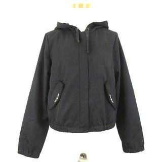 axes femme - アクシーズファム ビジュー付マウンテンパーカー ジャケット M ブラック