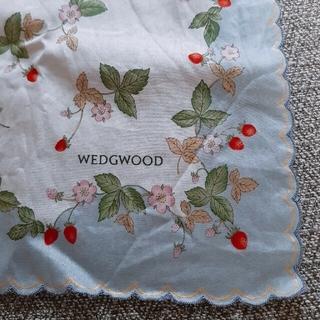 WEDGWOOD - WEDGEWOOD ワイルドストロベリー ハンカチ