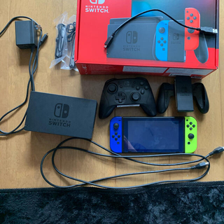 Nintendo Switch - 任天堂スイッチ+プロコンセット