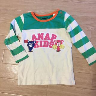 アナップキッズ(ANAP Kids)の●アナップ ロンT  90㎝  (Tシャツ/カットソー)