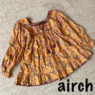 アーキ(archi)のアーキ aキッズ 女の子 チュニック ブラウス 120 airch(Tシャツ/カットソー)