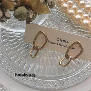 ZARA - *再々入荷* gold design pierce