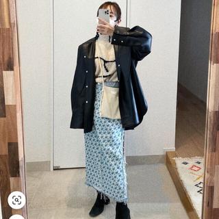 LE CIEL BLEU - 【未使用】高橋愛着用  アイレネ  フラワーデニムスカート