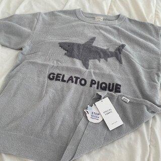 gelato pique - ジェラートピケ モチーフジャガードワンポイントプルオーバー