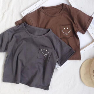 petit main - にこちゃんTシャツ