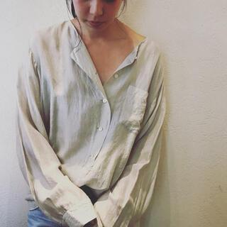 ファビアンルー(Fabiane Roux)のnowosシルクシャツ(シャツ/ブラウス(長袖/七分))