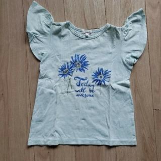 【もりちぃ様専用】花プリント&UNIQLOTシャツ2枚 (Tシャツ/カットソー)