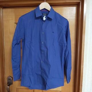 BURBERRY BLACK LABEL - BURBERRY BLACK LABEL シャツ 長袖 39 ホースロゴ 日本製