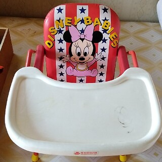 ディズニー(Disney)のミニーマウス 子供用椅子(その他)