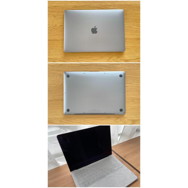 Apple(アップル)の新品同様 13インチ MacBook Air M1 メモリ16GB増設モデル スマホ/家電/カメラのPC/タブレット(ノートPC)の商品写真