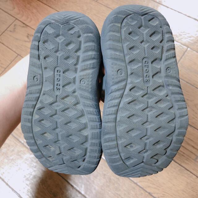 crocs(クロックス)のクロックス★キッズ サンダル キッズ/ベビー/マタニティのベビー靴/シューズ(~14cm)(サンダル)の商品写真
