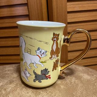 ディズニー(Disney)の新品 ディズニー おしゃれキャット マグカップ(グラス/カップ)