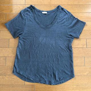 ザラ(ZARA)のZARA リネンシリーズ 半袖 サイズ S Tシャツ(Tシャツ(半袖/袖なし))