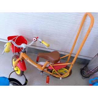 アンパンマン 子供用自転車 12インチ 補助輪付き(自転車)