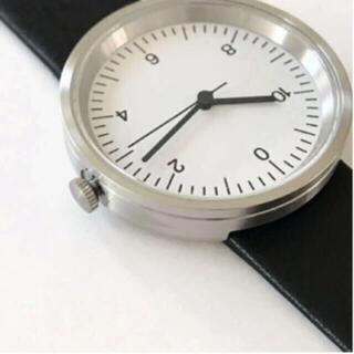MUJI (無印良品) - 【新品】MUJI 腕時計・Wall Clock・シルバー